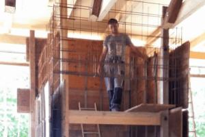Konstrukcija jaska za dvigalo