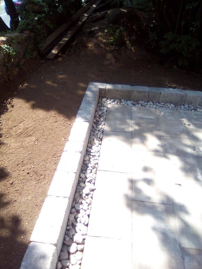 tlakovanje vrta 2